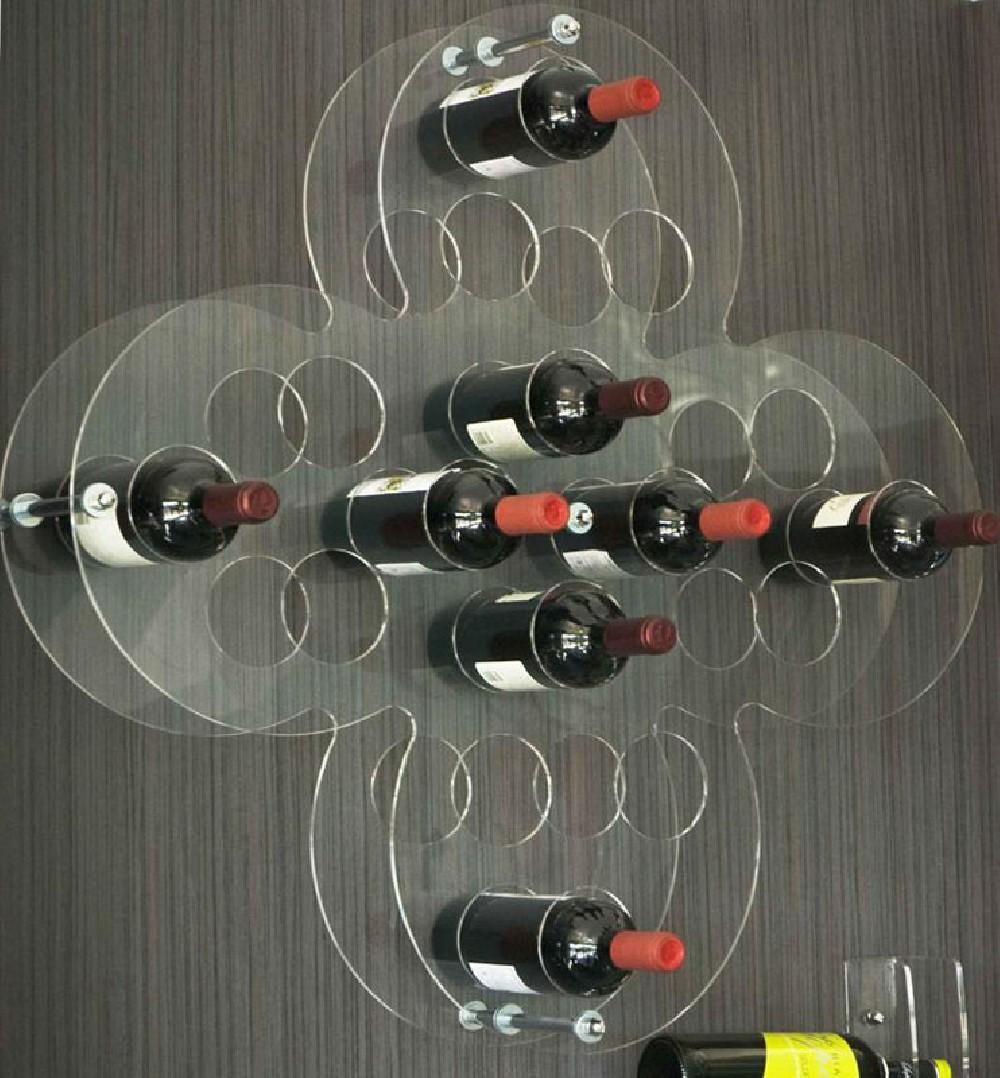Lavorazione e taglio plexiglass insegne a led luminose - Porta vini da parete ...