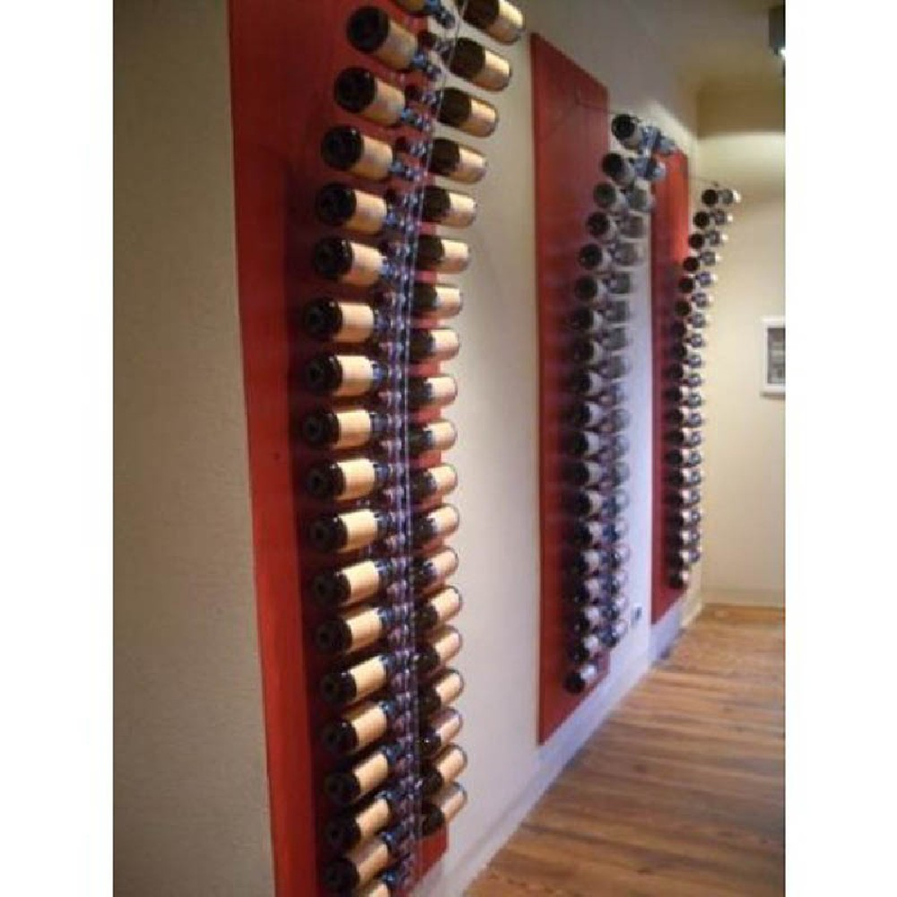 Porta vino da muro excellent da parete in legno massello porta vino da parete in legno semplice - Porta vino da parete ...