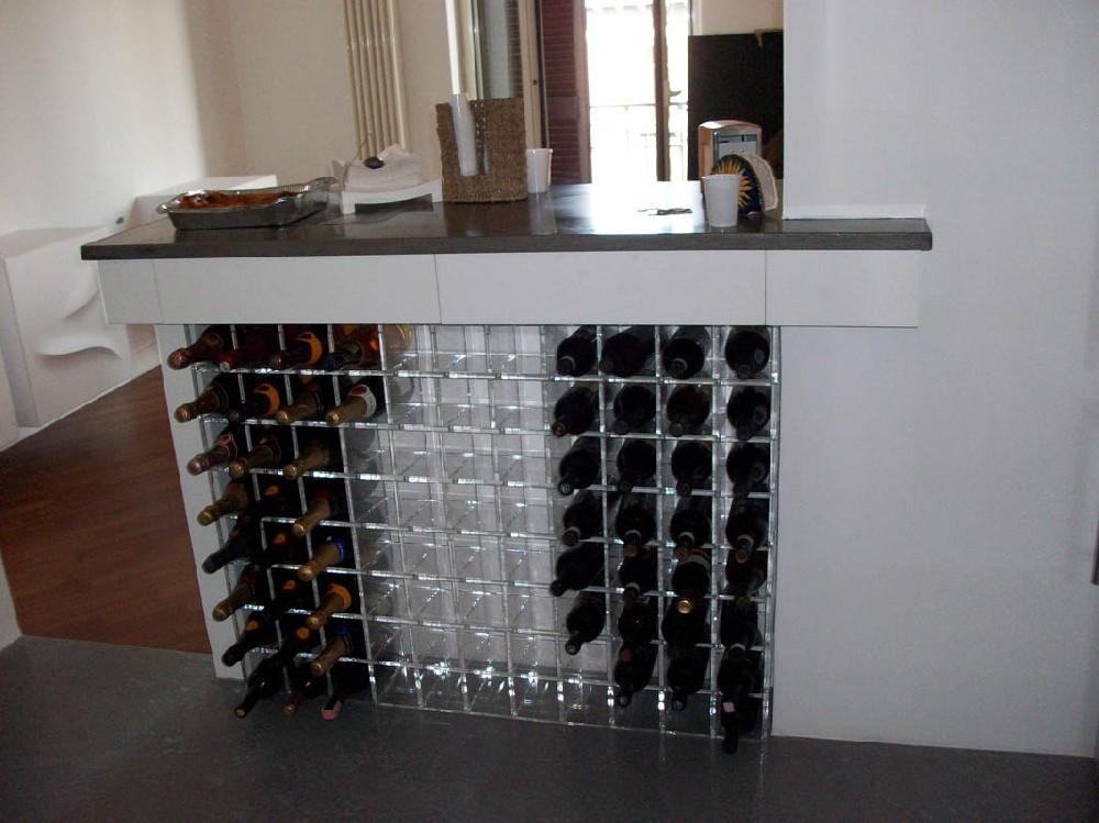 Mobile porta vini di design esigo with mobile porta vini - Mobile porta vino ...